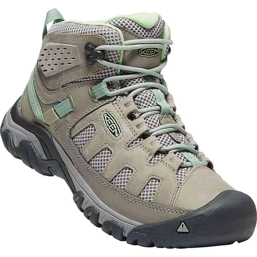 Shoe】Fumo/Quiet Green Vent キーン レディース シューズ・靴【Targhee Keen Mid ハイキング・登山