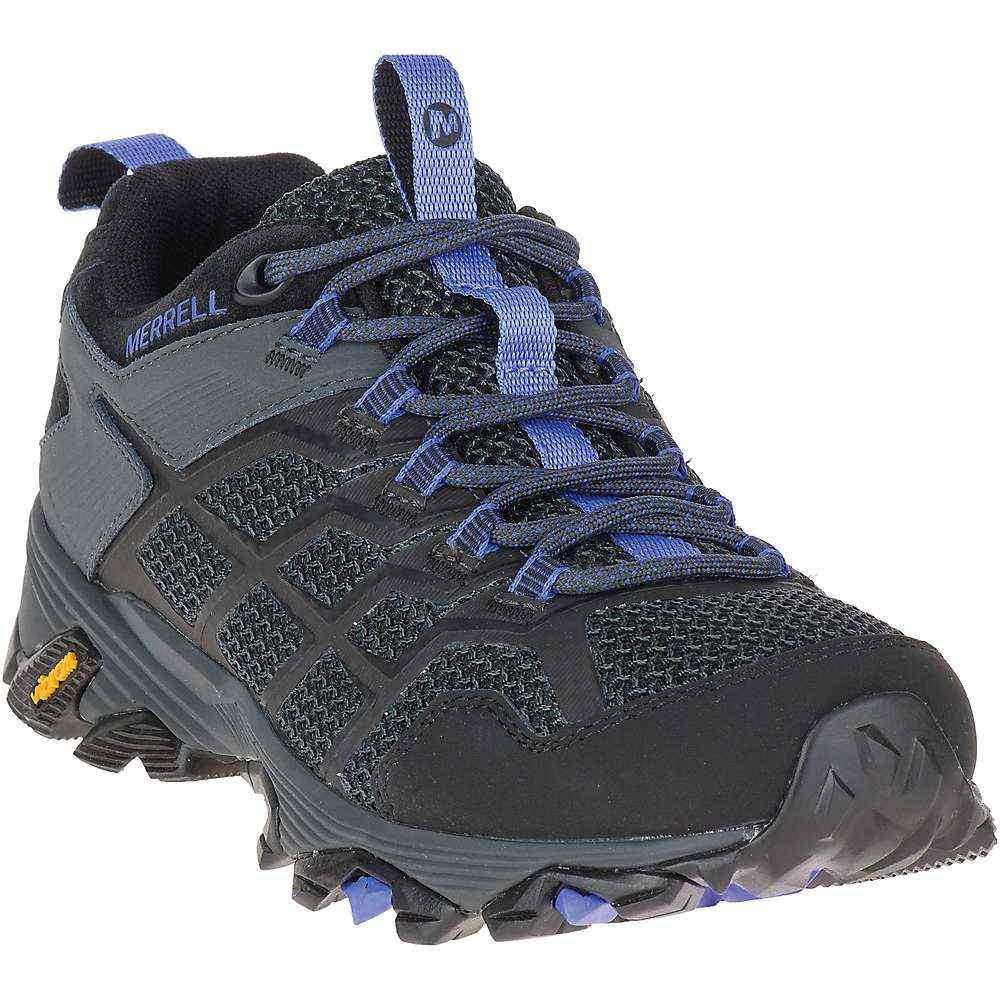 メレル Merrell レディース ハイキング・登山 シューズ・靴【Moab FST 2 Shoe】Black/Granite