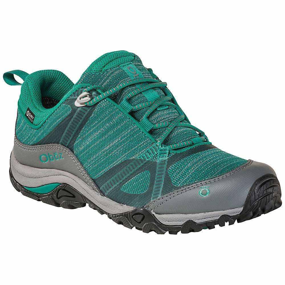 オボズ Oboz レディース ハイキング・登山 シューズ・靴【Lynx Low BDry Shoe】Aqua/Frost Gray