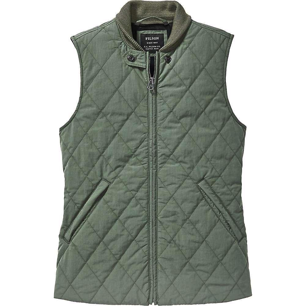 フィルソン Filson レディース トップス ベスト・ジレ【Bell Island Insulated Vest】Forestry