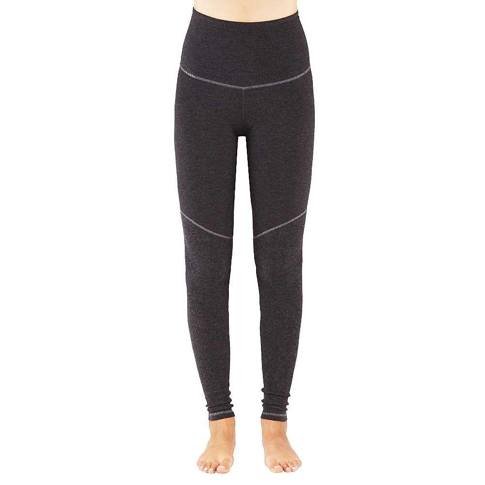 マンドゥカ Manduka レディース ヨガ・ピラティス ボトムス・パンツ【E-Cotton High Rise Legging】Dark Heather グレー