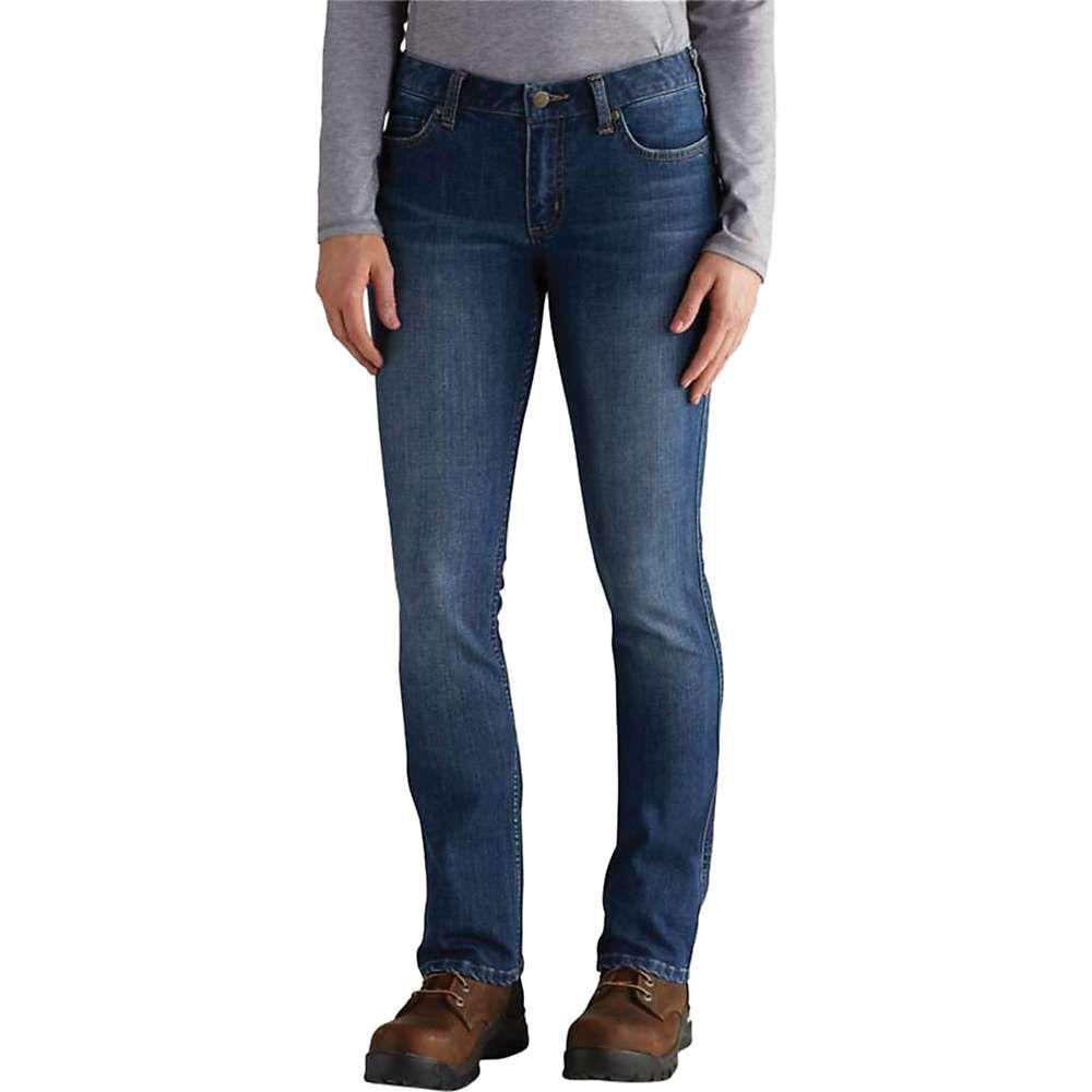 カーハート Carhartt レディース ボトムス・パンツ ジーンズ・デニム【Slim Fit Layton Bootuct Jean】Rainwash