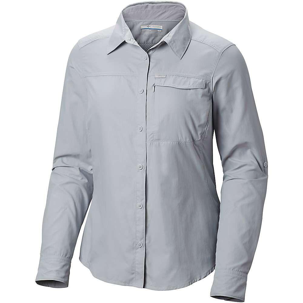 コロンビア Columbia レディース ハイキング・登山 トップス【Silver Ridge 2.0 LS Shirt】Cirrus Grey