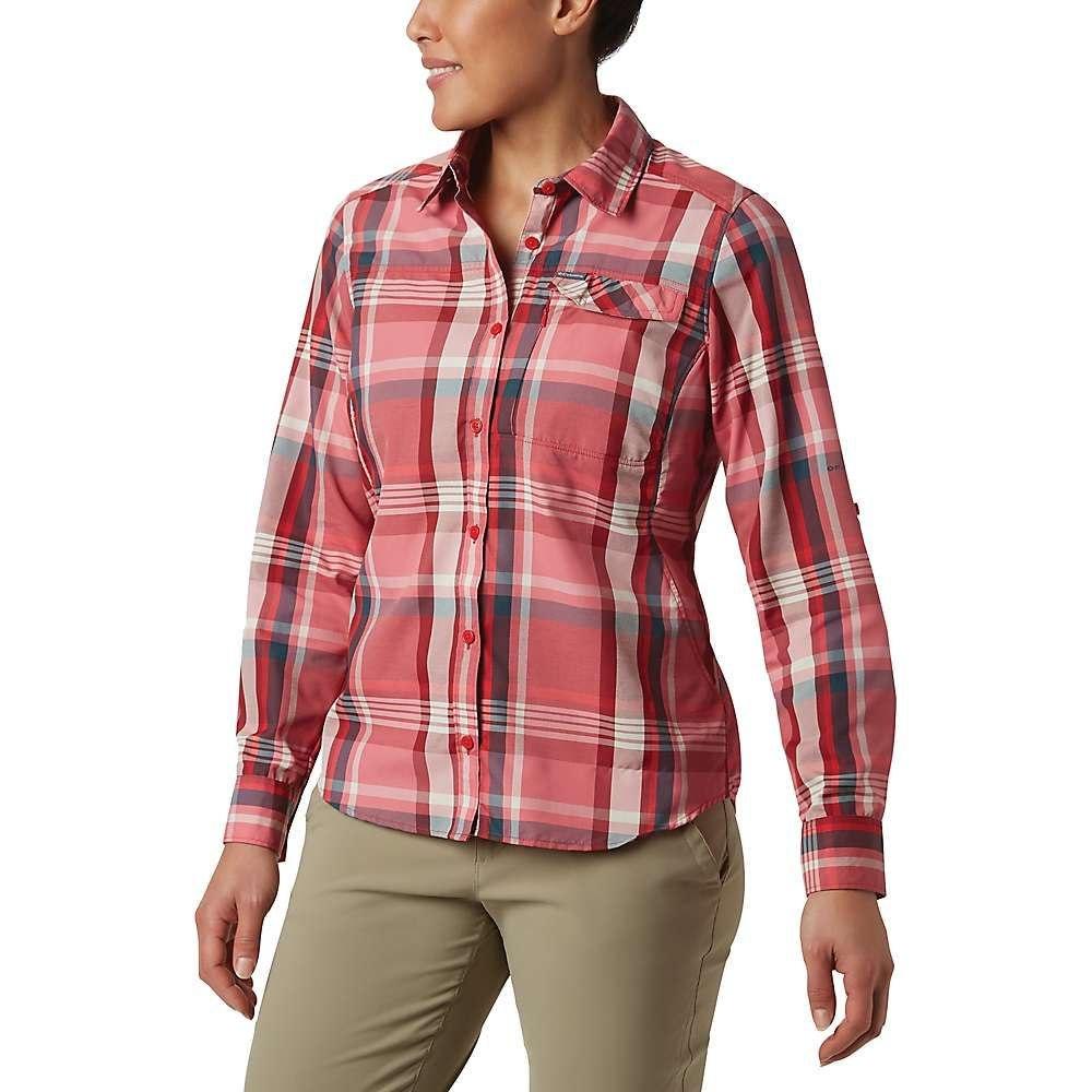 コロンビア Columbia レディース ハイキング・登山 トップス【Silver Ridge 2.0 Plaid Long Sleeve Shirt】Red Lily Plaid