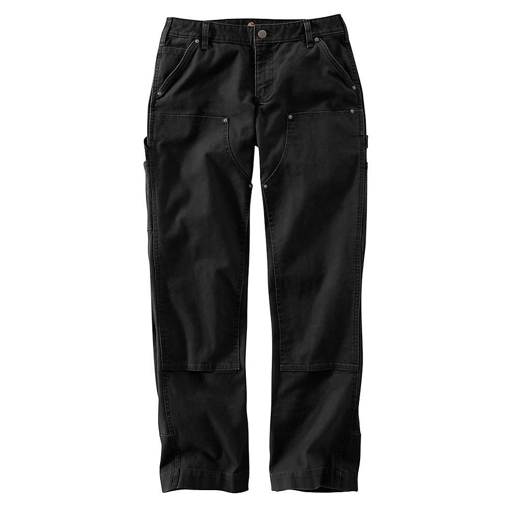 カーハート Carhartt レディース ボトムス・パンツ【Original Fit Hayden Double Front Dungaree Pant】Black