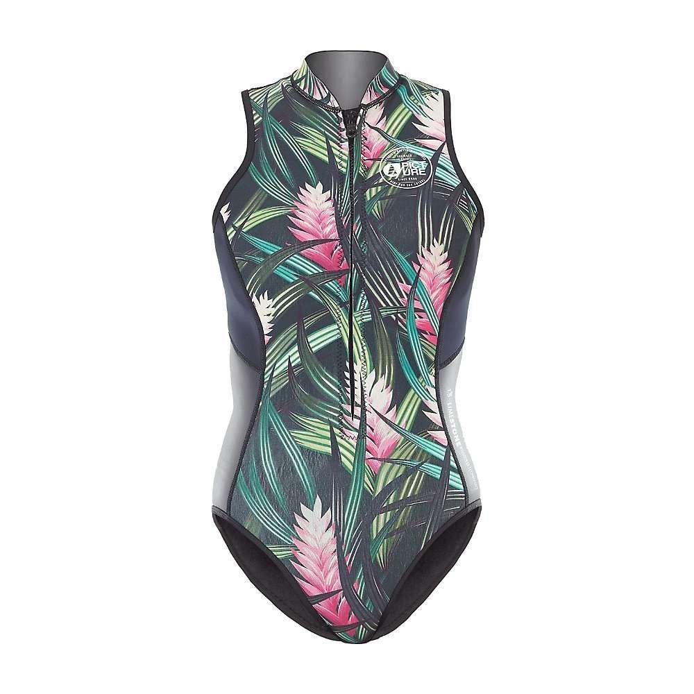 ピクチャー Picture レディース 水着・ビーチウェア ウェットスーツ【Sunshine 1.5 Zip Wetsuit】Savane Print