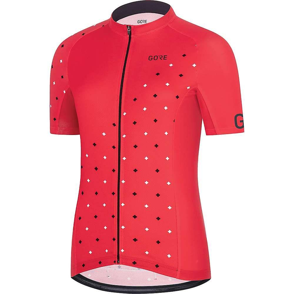 ゴアウェア Gore Wear レディース 自転車 トップス【C3 Jersey】Hibiscus ピンク/白い