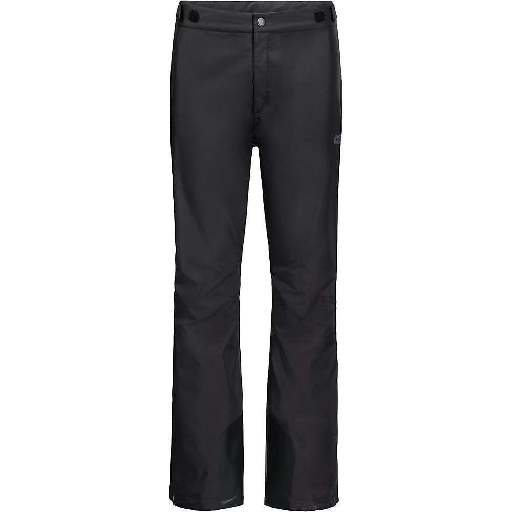 ジャックウルフスキン Jack Wolfskin メンズ ハイキング・登山 ボトムス・パンツ【Kanuka Ridge Pant】Black