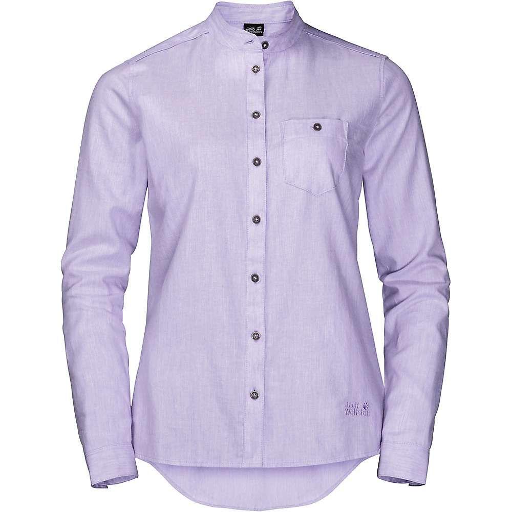ジャックウルフスキン Jack Wolfskin レディース トップス ブラウス・シャツ【Naka River Shirt】True Lavender