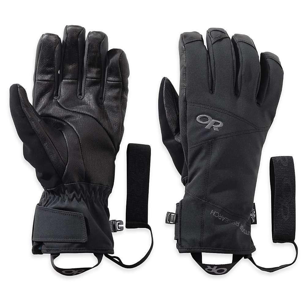 アウトドアリサーチ Outdoor Research メンズ クライミング グローブ【Illuminator Sensor Glove】Black
