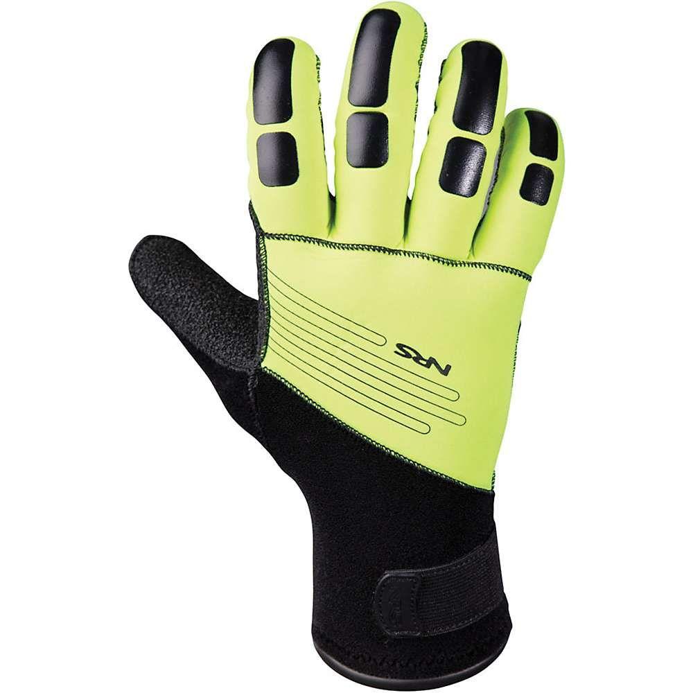 エヌアールエス NRS メンズ グローブ【Reactor Rescue Glove】High Vis Green