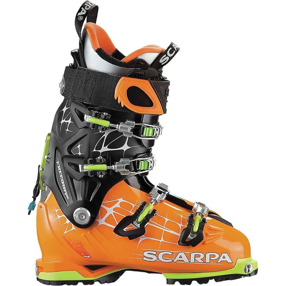 スカルパ Scarpa メンズ スキー・スノーボード シューズ・靴【Freedom RS 130 Boot】Orange/Black