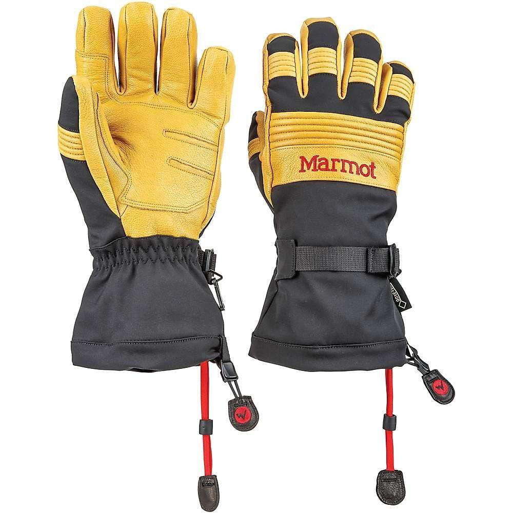マーモット Marmot メンズ スキー・スノーボード グローブ【Ultimate Ski Glove】Black/Tan