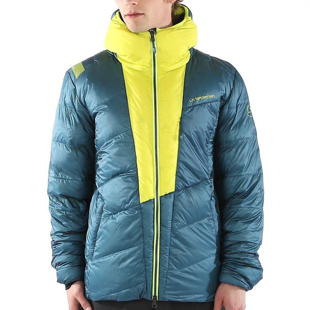 ラスポルティバ La Sportiva メンズ スキー・スノーボード アウター【Command Down Jacket】Ocean/Sulphur