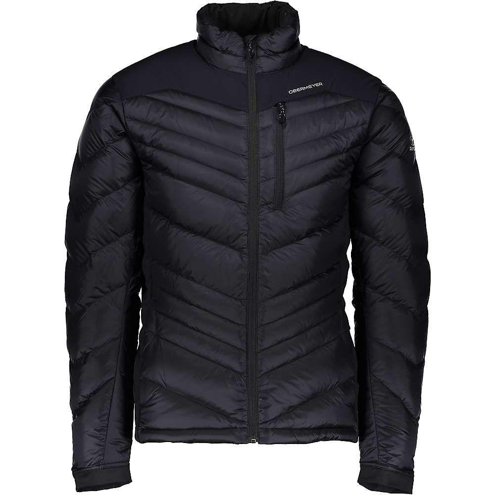 オバマイヤー Obermeyer メンズ スキー・スノーボード アウター【Ion Stretch Insulator Jacket】Black