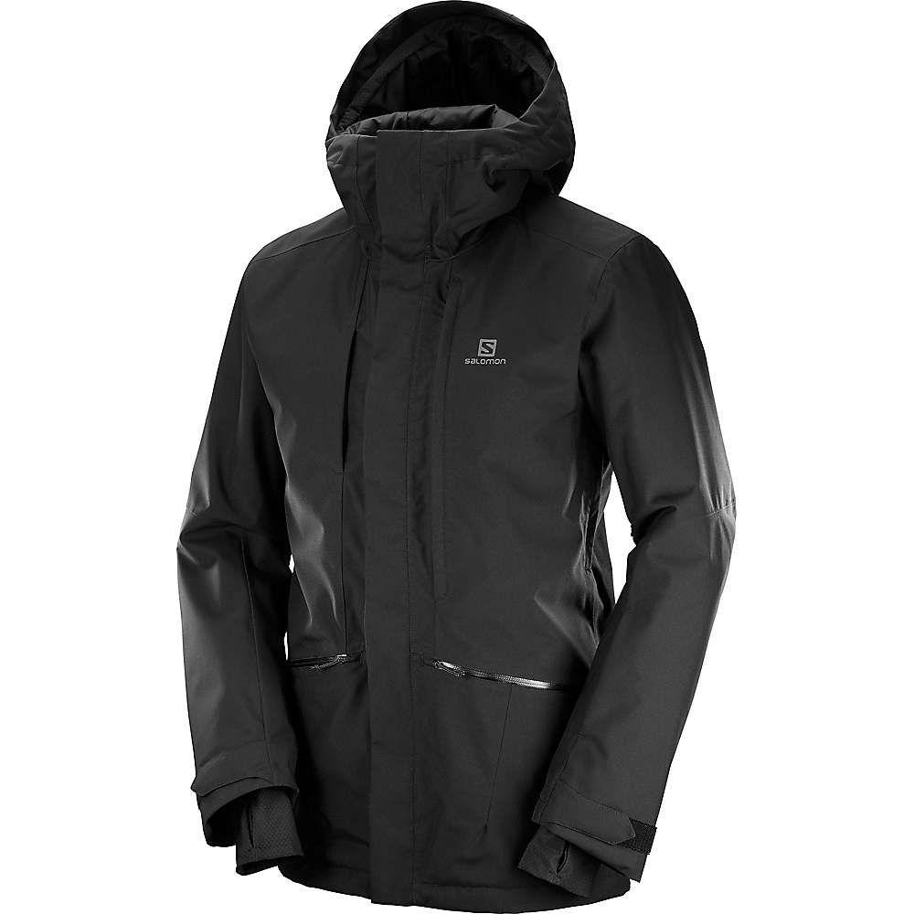 サロモン Salomon メンズ スキー・スノーボード アウター【QST Snow Jacket】Black