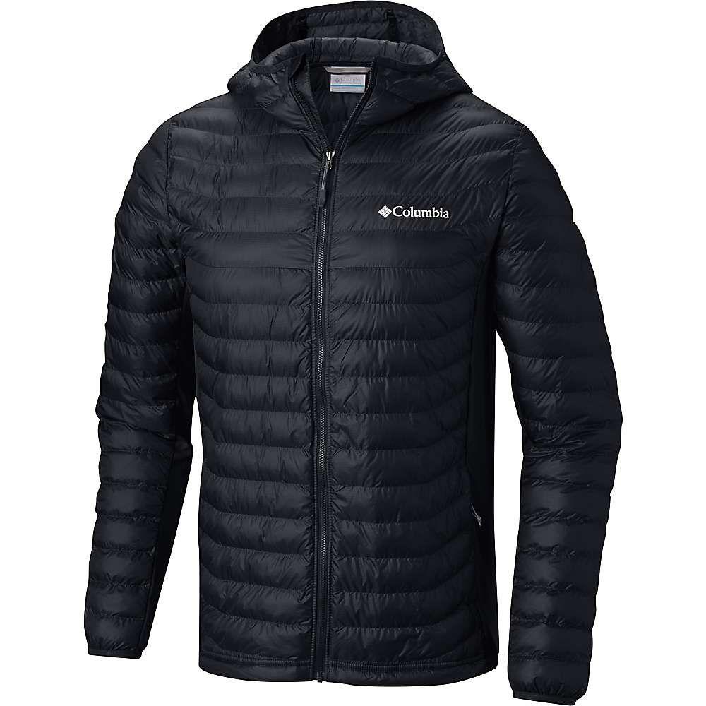 コロンビア Columbia メンズ スキー・スノーボード アウター【Powder Pass Hooded Jacket】Black