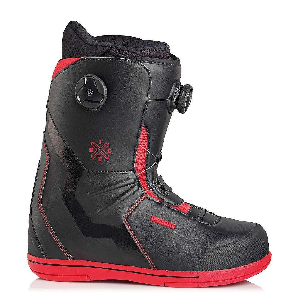 ディーラックス Deeluxe メンズ スキー・スノーボード シューズ・靴【IDxHC Focus PF Snowboard Boot】Black/Red