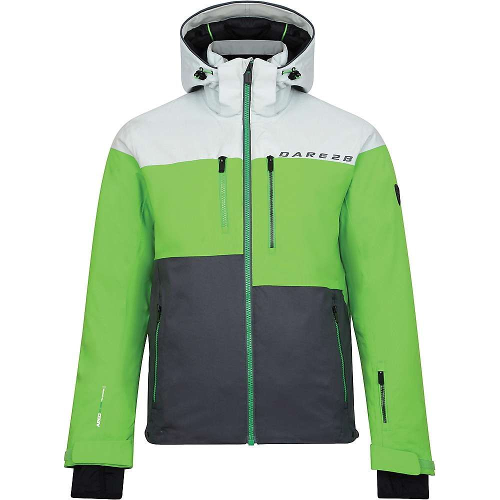 デア トゥビー Dare 2B メンズ スキー・スノーボード アウター【Roamer Pro Jacket】Cybspace Grey Marl/Fairview Green/Ebony Grey