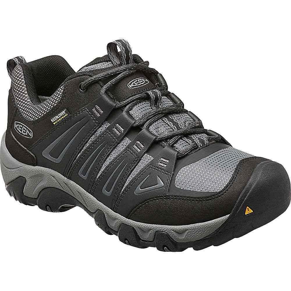 キーン Keen メンズ ハイキング・登山 シューズ・靴【Oakridge Waterproof Shoe】Magnet/Gargoyle