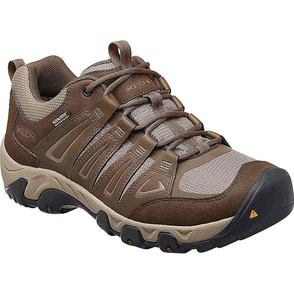 キーン Keen メンズ ハイキング・登山 シューズ・靴【Oakridge Waterproof Shoe】Cascade/Brindle