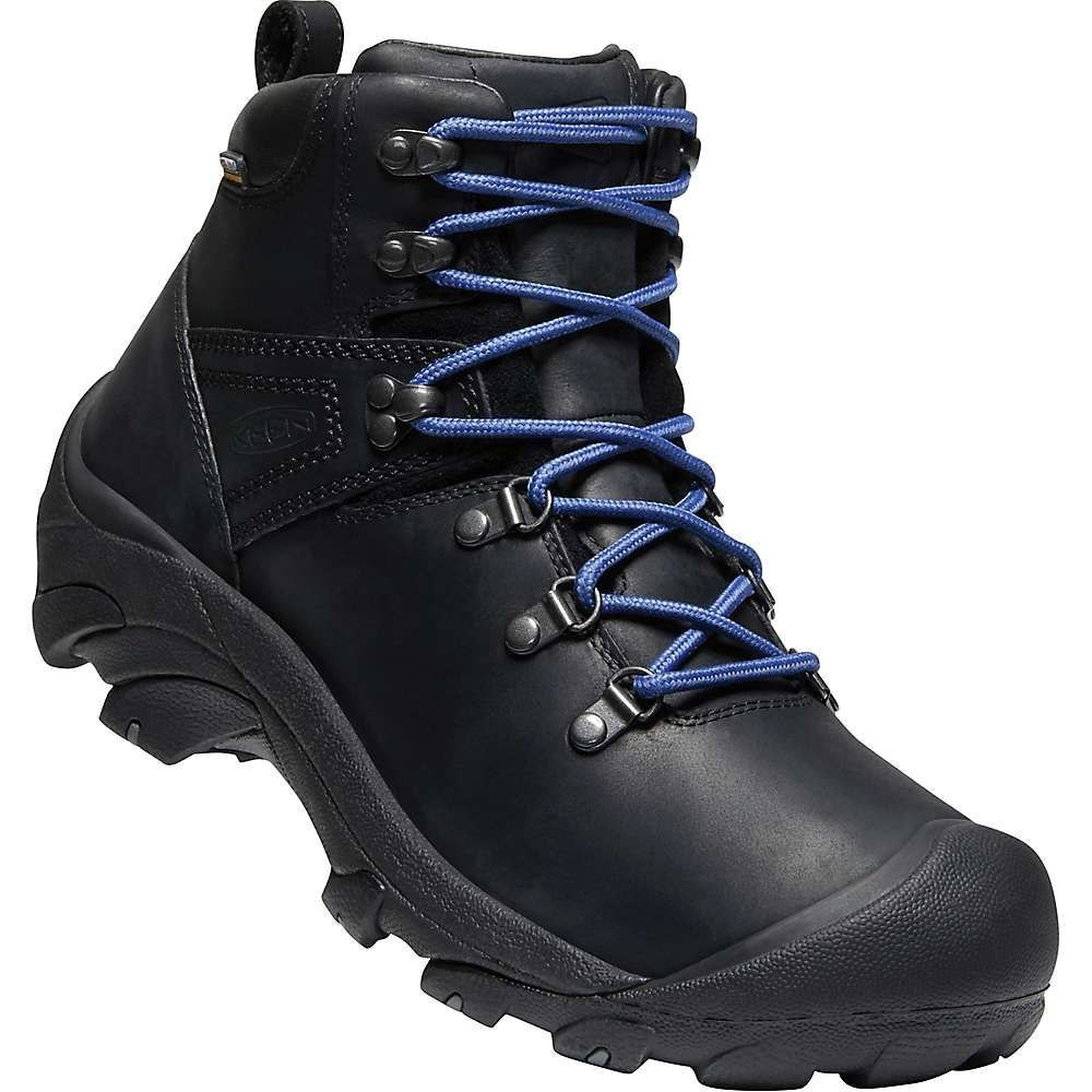 キーン Keen メンズ ハイキング・登山 シューズ・靴【Pyrenees Hiking Boot】Black/Galaxy Blue
