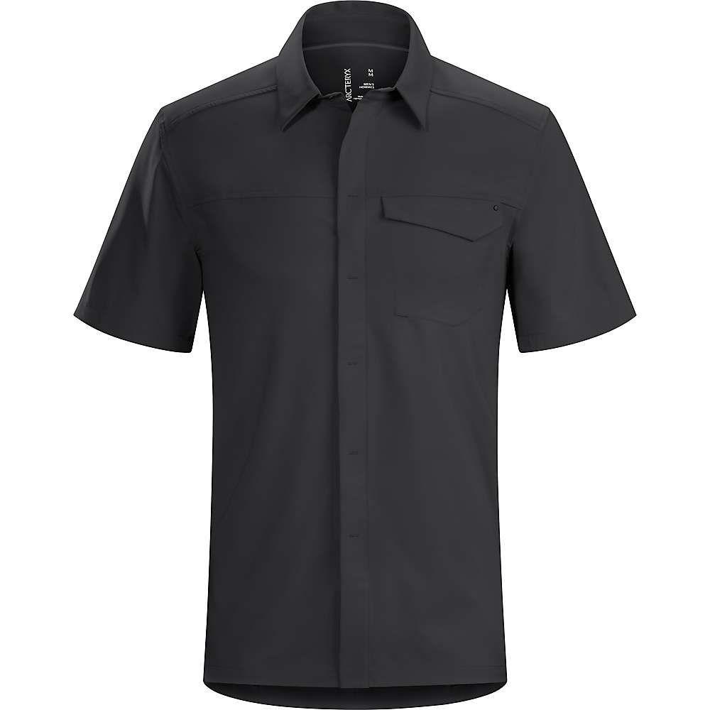 アークテリクス Arcteryx メンズ ハイキング・登山 トップス【Skyline SS Shirt】Black