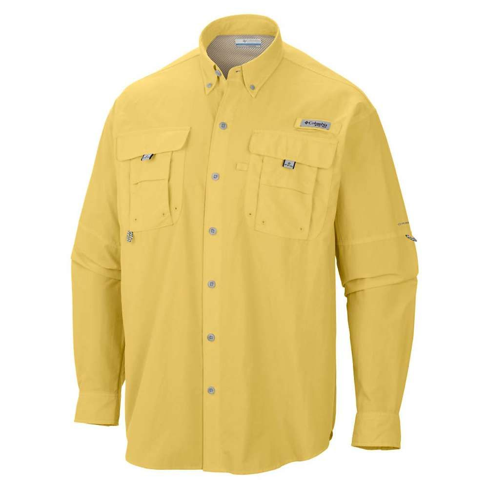 コロンビア Columbia メンズ ハイキング・登山 トップス【Bahama II LS Shirt】Sunlit