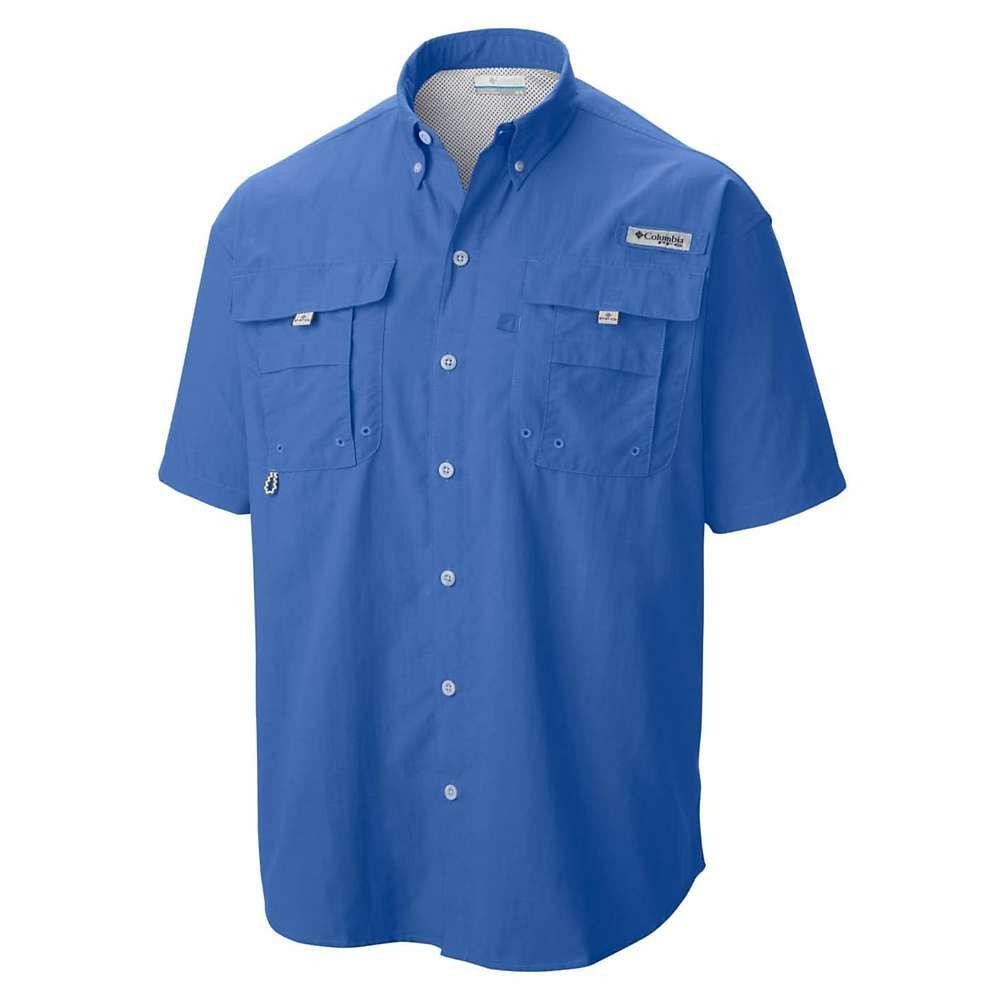 コロンビア Columbia メンズ ハイキング・登山 トップス【Bahama II SS Shirt】Vivid Blue