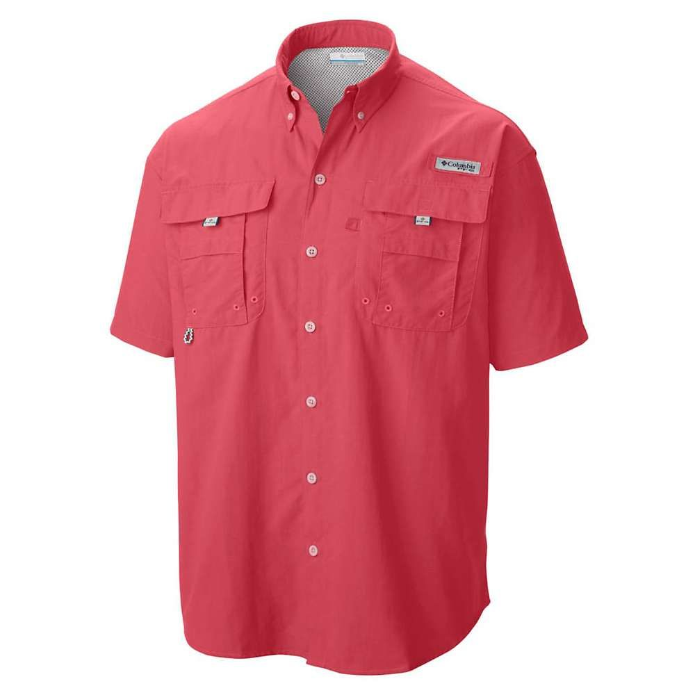 コロンビア Columbia メンズ ハイキング・登山 トップス【Bahama II SS Shirt】Sunset Red