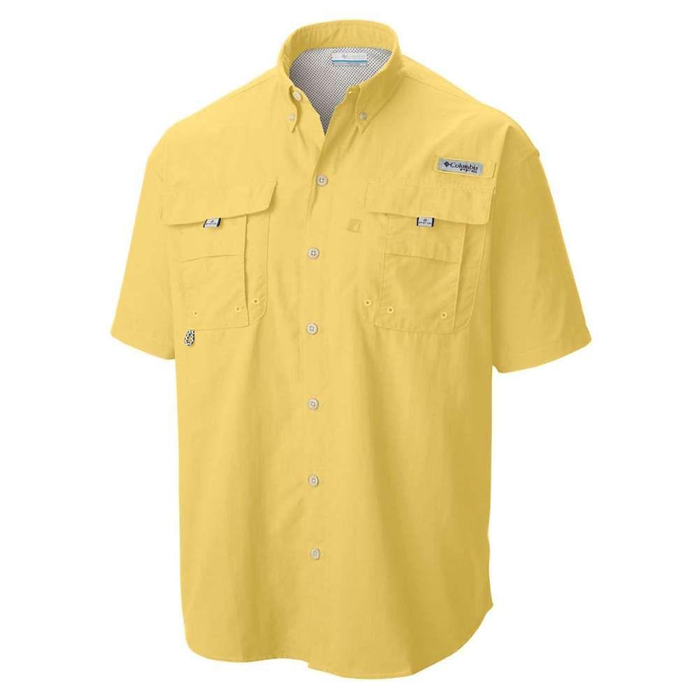 コロンビア Columbia メンズ ハイキング・登山 トップス【Bahama II SS Shirt】Sunlit