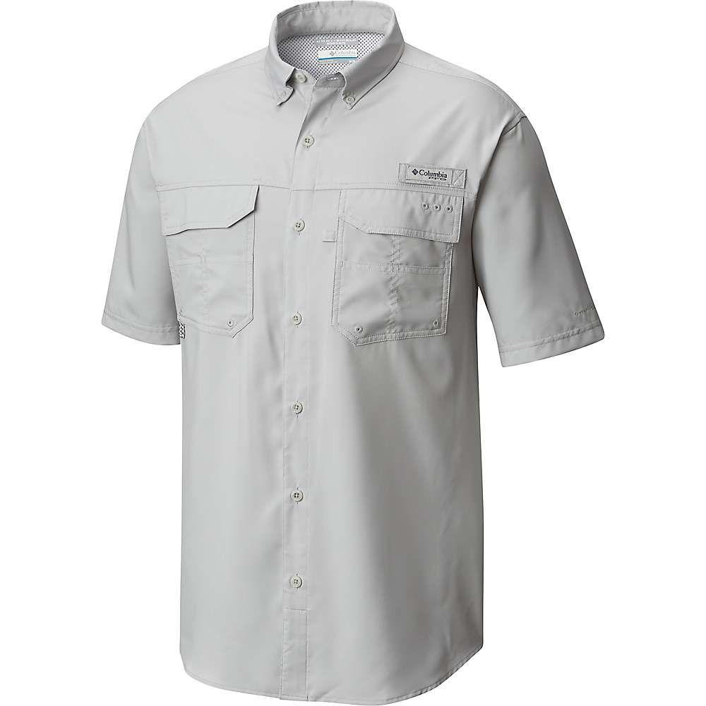 コロンビア Columbia メンズ ハイキング・登山 トップス【Blood And Guts III SS Woven Shirt】Cool Grey