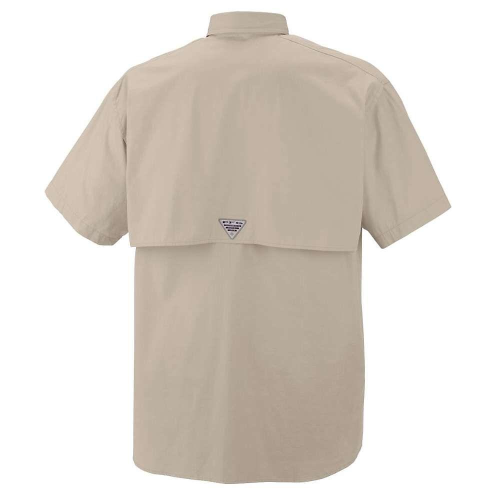 コロンビア Columbia メンズ ハイキング・登山 トップス【Bonehead SS Shirt】Fossil
