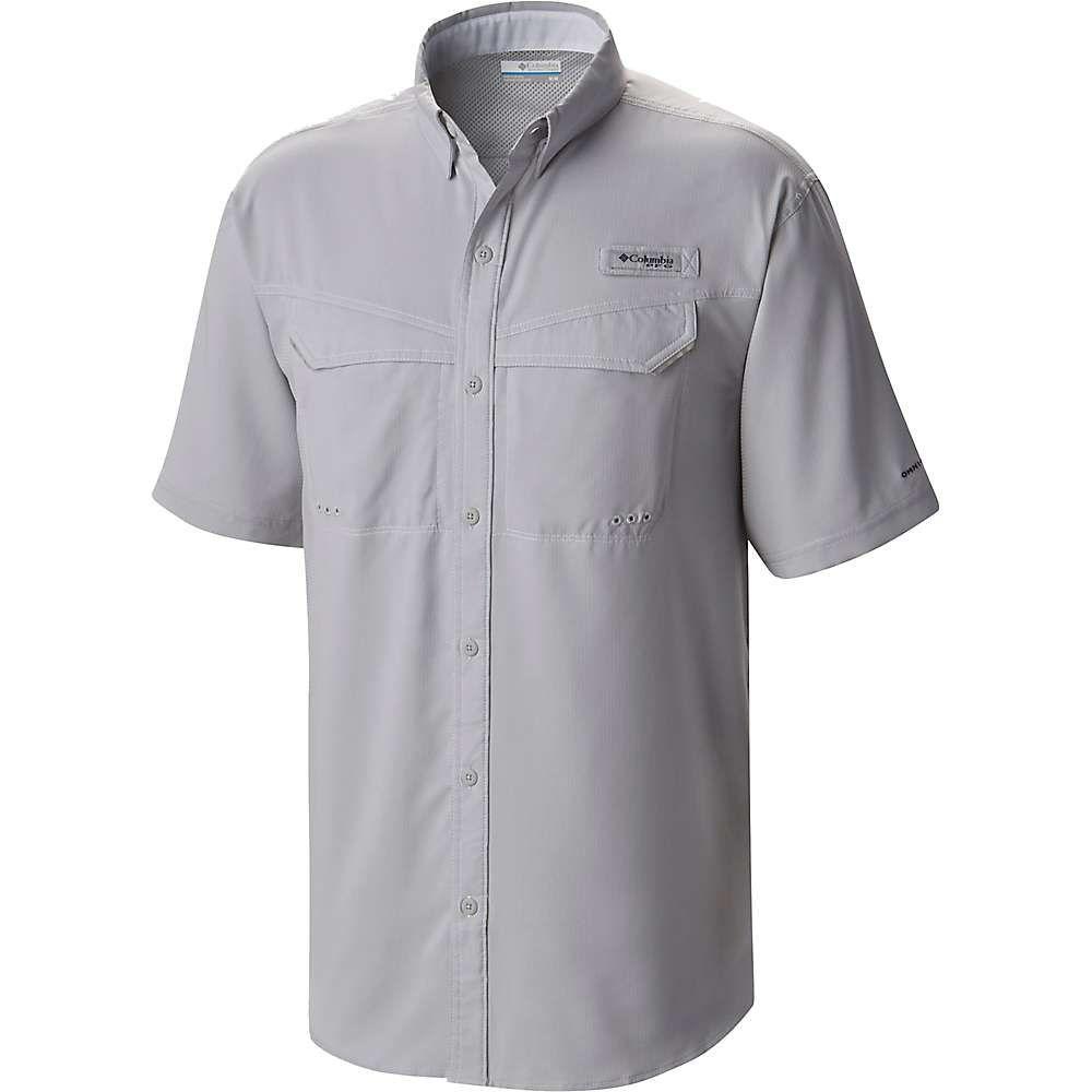 コロンビア Columbia メンズ ハイキング・登山 トップス【Low Drag Offshore SS Shirt】Cool Grey/White