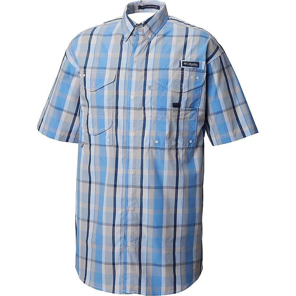 コロンビア Columbia メンズ ハイキング・登山 トップス【Super Bonehead Classic SS Shirt】White Cap Plaid