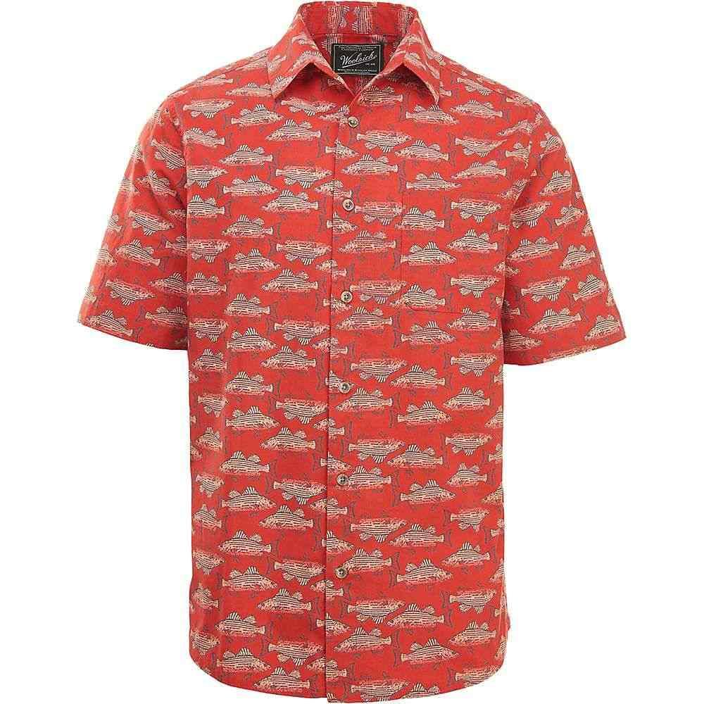 ウールリッチ Woolrich メンズ ハイキング・登山 トップス【Eco Rich Modern Fit Walnut Springs Shirt】Cactus Red