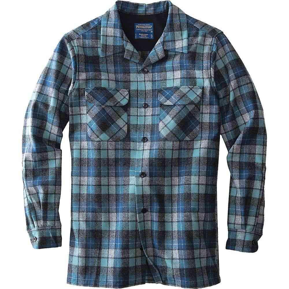 ペンドルトン Pendleton メンズ ハイキング・登山 トップス【Long Sleeve Board Shirt】Blue Original Surf Plaid