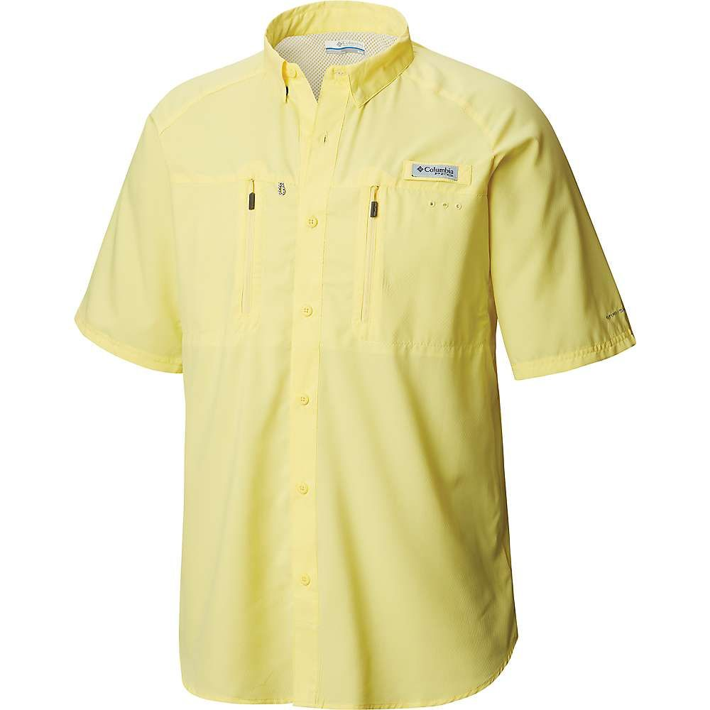 コロンビア Columbia メンズ ハイキング・登山 トップス【Terminal Tackle SS Woven Shirt】Sunlit