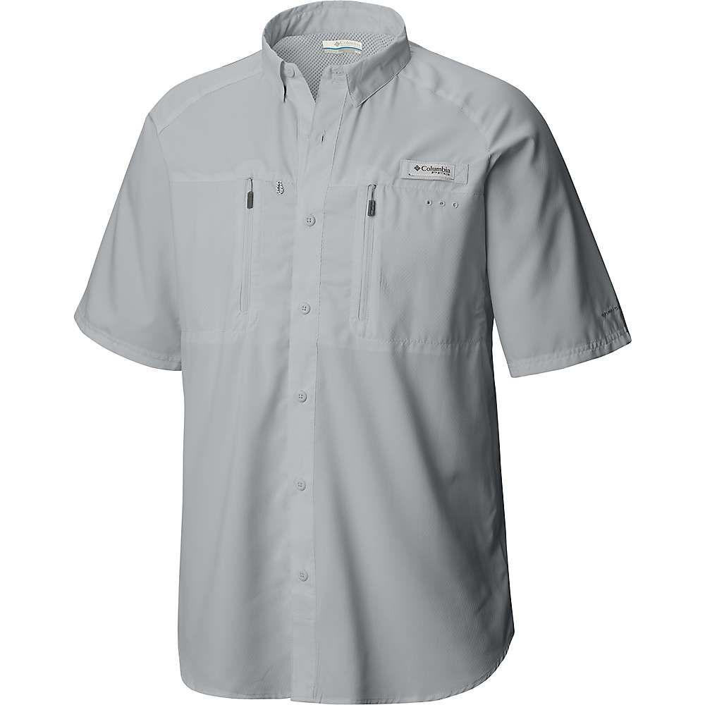 コロンビア Columbia メンズ ハイキング・登山 トップス【Terminal Tackle SS Woven Shirt】Cool Grey