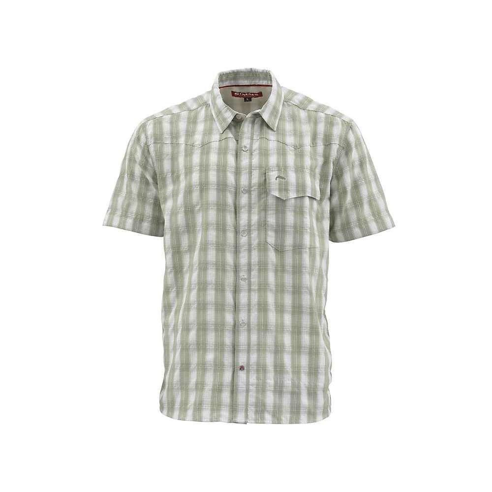 シムズ Simms メンズ ハイキング・登山 トップス【Big Sky SS Shirt】Sagebrush Plaid