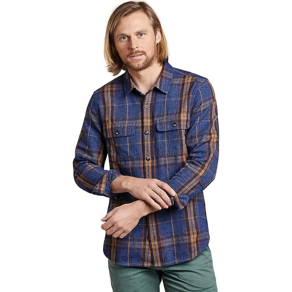 トードアンドコー Toad & Co メンズ ハイキング・登山 トップス【Ranchero LS Shirt】Blue Moon