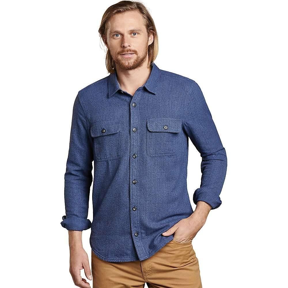 トードアンドコー Toad & Co メンズ ハイキング・登山 トップス【Ranchero LS Shirt】True Navy