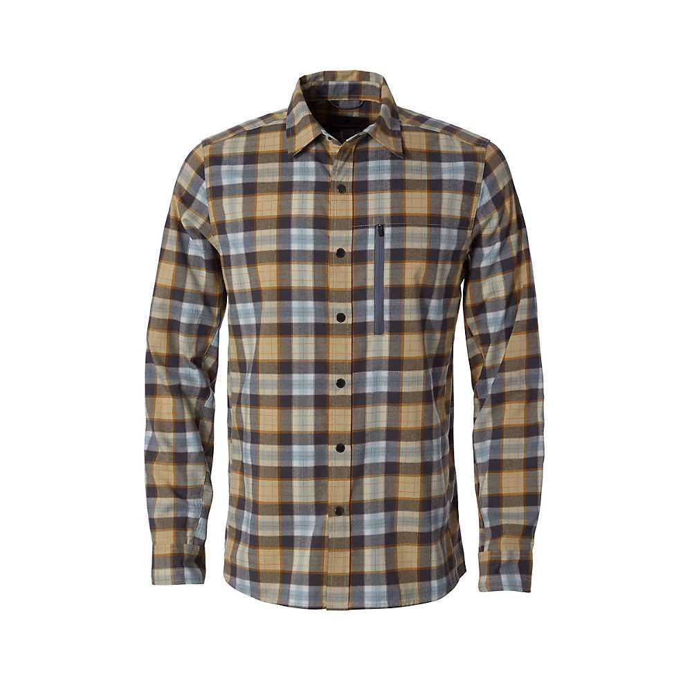 ロイヤルロビンズ Royal Robbins メンズ ハイキング・登山 トップス【Thermotech Ren Plaid LS Shirt】Turbulence