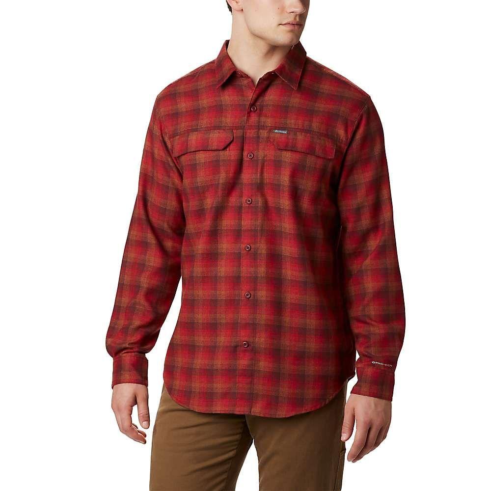 コロンビア Columbia メンズ ハイキング・登山 トップス【Silver Ridge 2.0 Flannel Shirt】Mountain Red Plaid