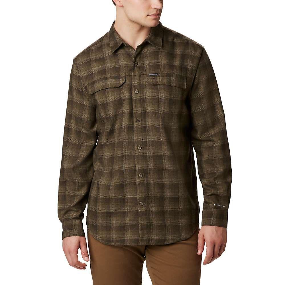 コロンビア Columbia メンズ ハイキング・登山 トップス【Silver Ridge 2.0 Flannel Shirt】Olive Green Plaid