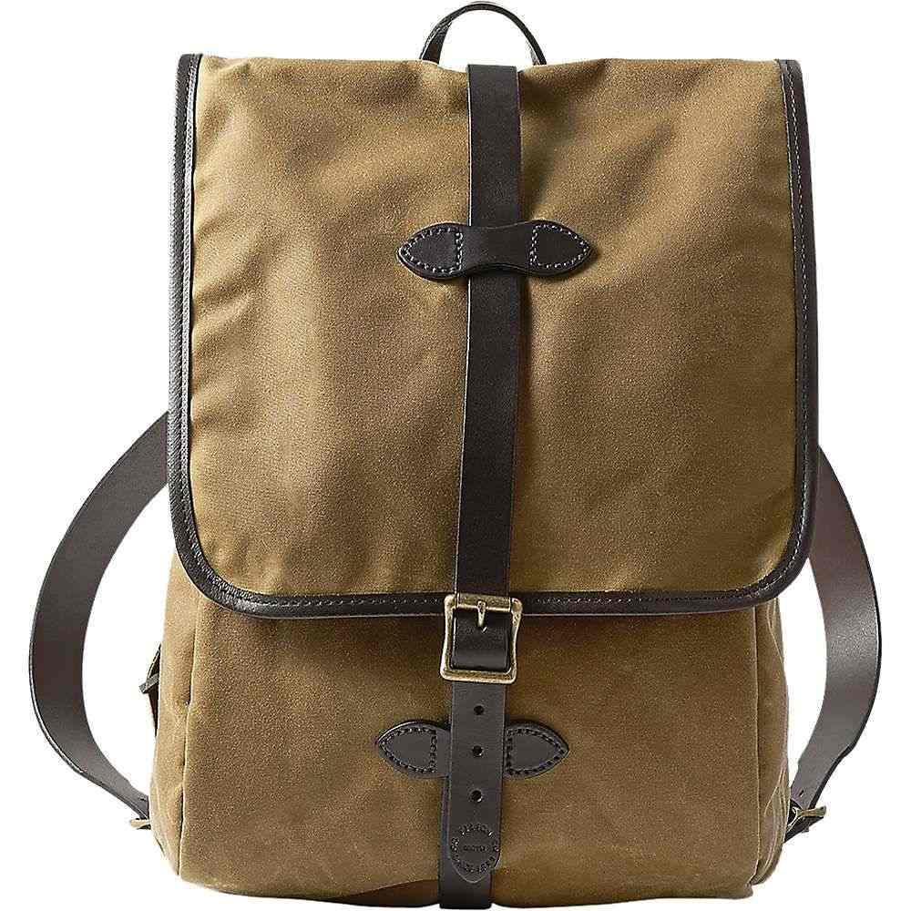 フィルソン Filson メンズ ハイキング・登山 バックパック・リュック【Tin Cloth Backpack】Dark Tan