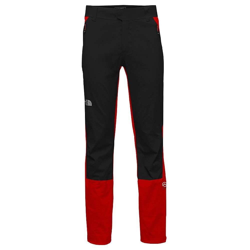 ザ ノースフェイス The North Face メンズ ハイキング・登山 ボトムス・パンツ【Summit L1 Climb Pant】Fiery Red/TNF Black