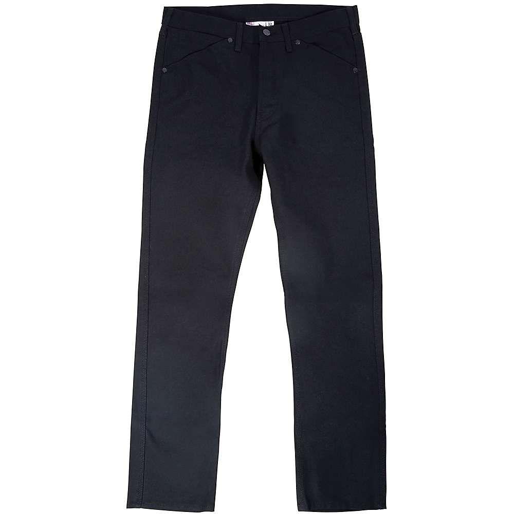トポ デザイン Topo Designs メンズ ハイキング・登山 ボトムス・パンツ【5 Pocket Pant】Black Canvas