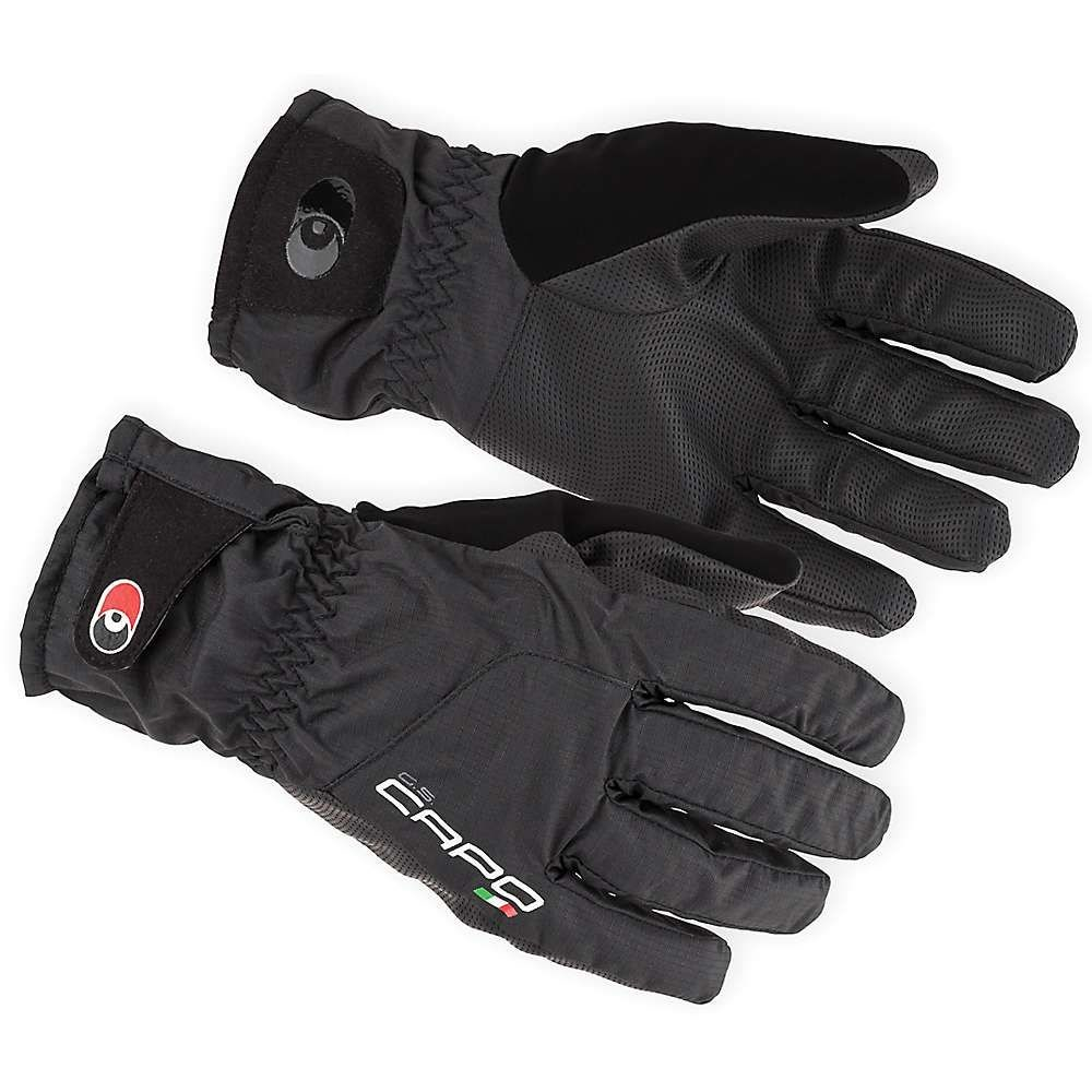カポ Capo メンズ 自転車 グローブ【Lombardia OD LF Glove】Black