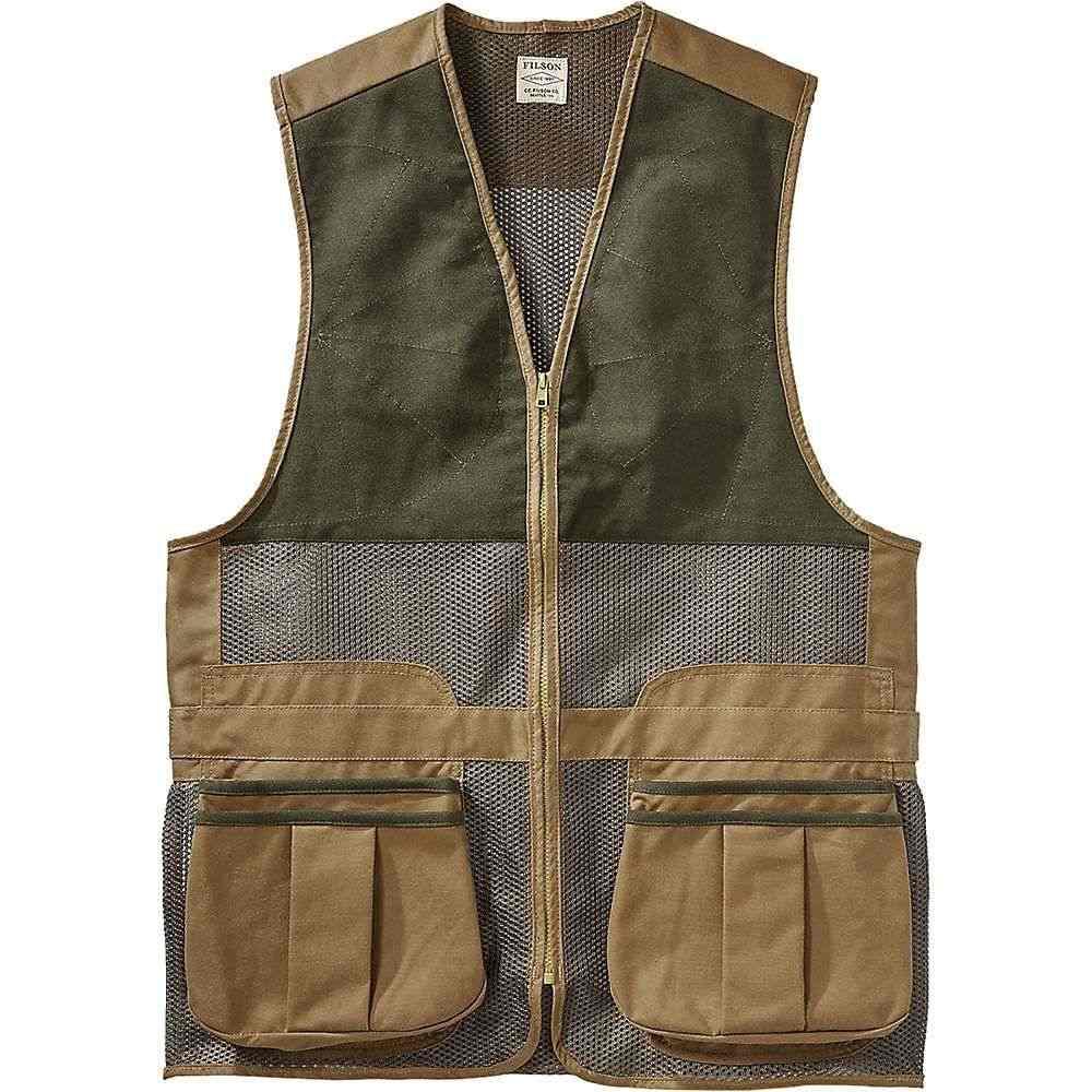 フィルソン Filson メンズ 釣り・フィッシング トップス【Light Shooting Vest】Dark Tan